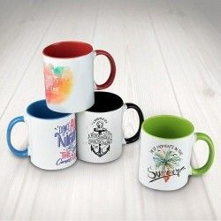 Taza Sublimación Color 300ml