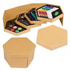 Set Pinturas Hexagonal
